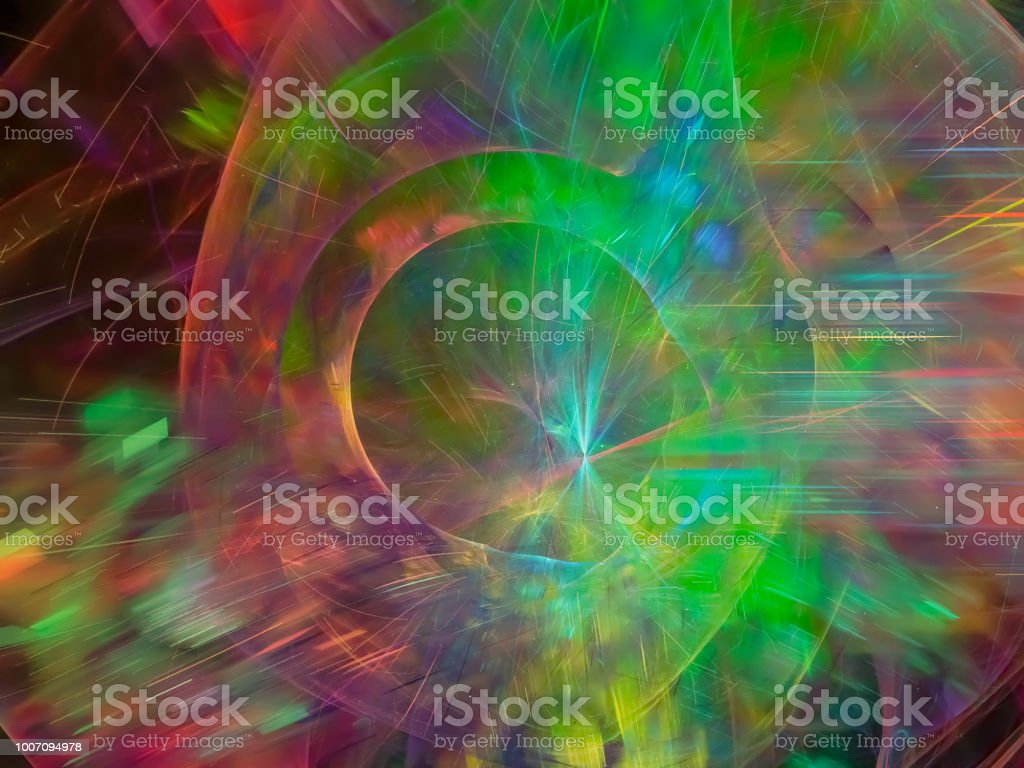 abstract fractal digital background colored stock photo