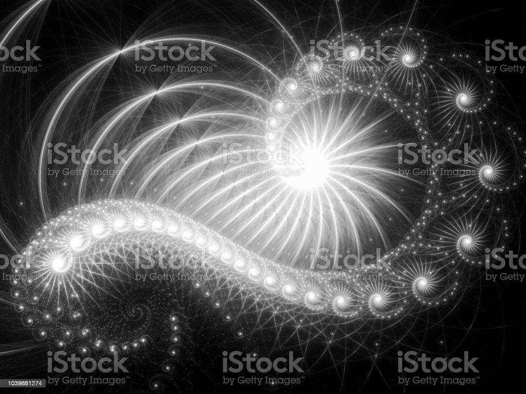 Papier Peint Pour Bureau photo libre de droit de fractale abstraite fond dart fractal