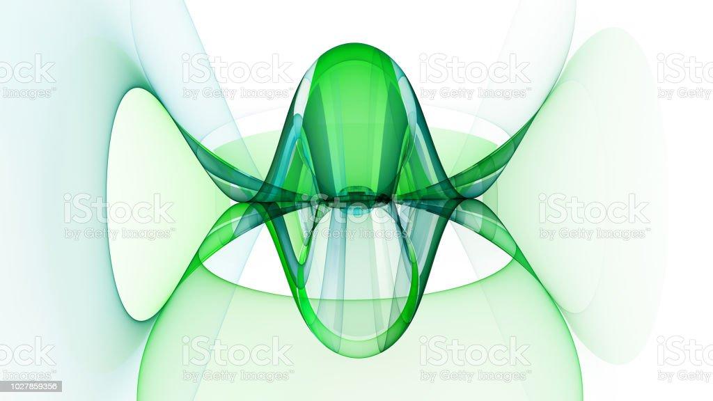 Abstrakte Fraktal Illustration für kreatives design – Foto