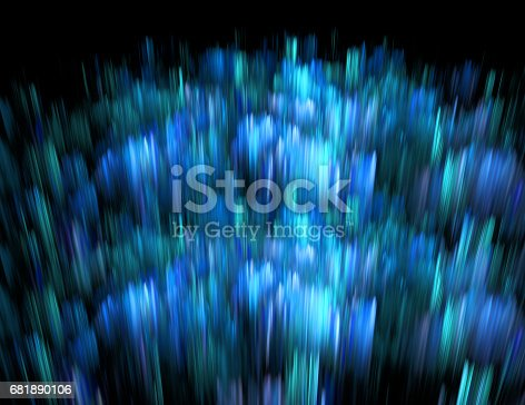 istock Abstract fractal illustration for creative design 681890106