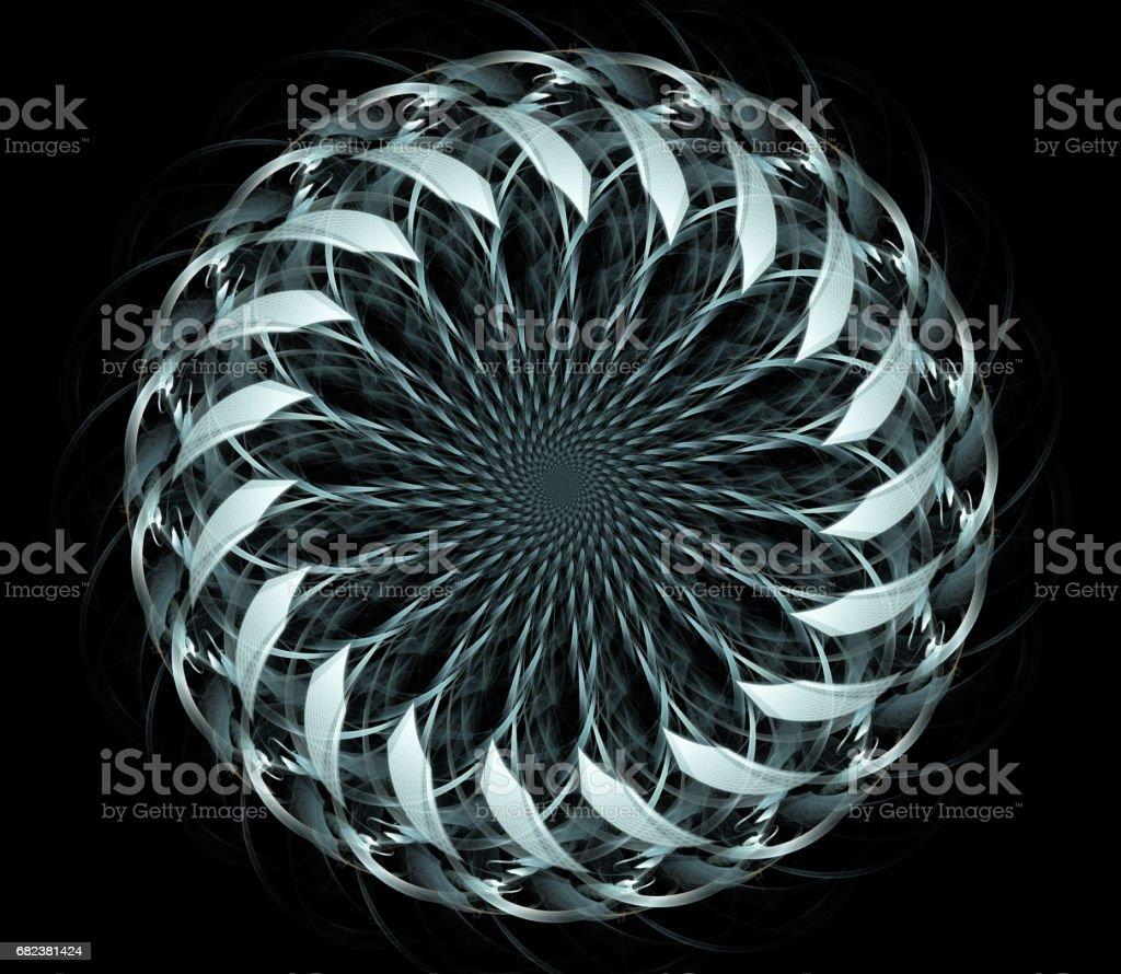 Abstrait fractal illustration pour design créatif photo libre de droits
