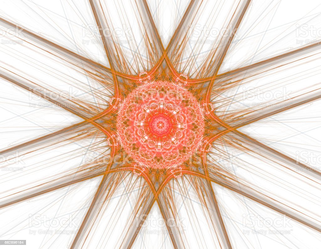 Abstract fractal illustration for creative design Lizenzfreies stock-foto
