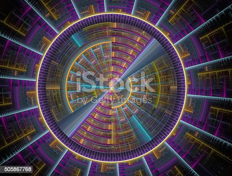 istock Abstract fractal image 505867768