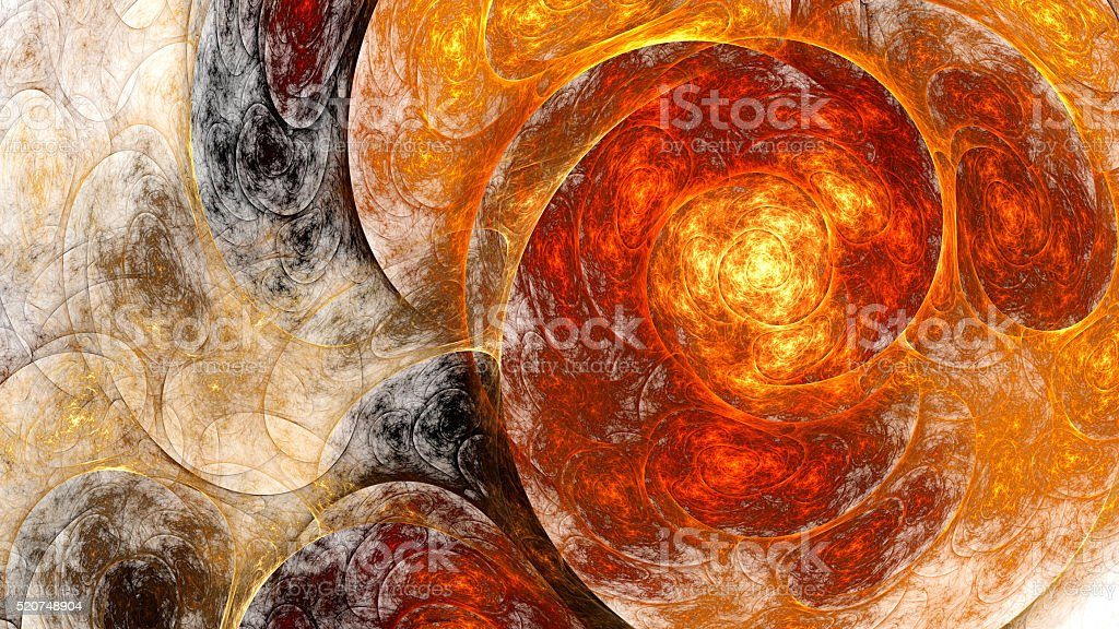 Abstract fractal pattern. stock photo