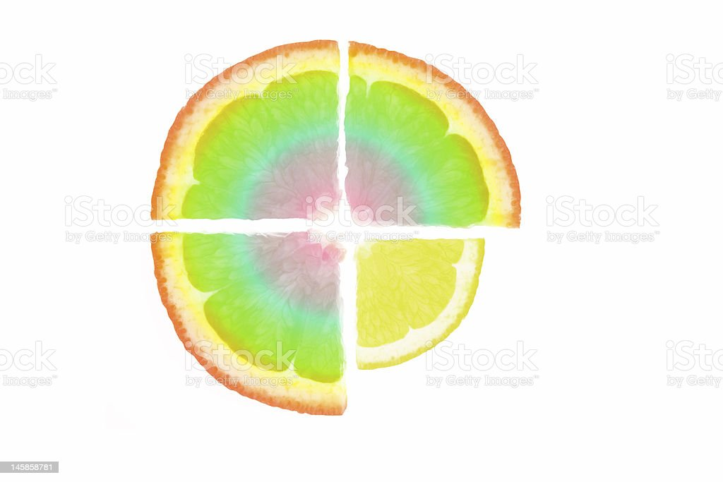 Abstract fruit royalty-free stock photo