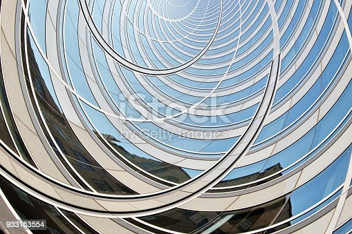istock Abstract Futuristic Architecture 933153554