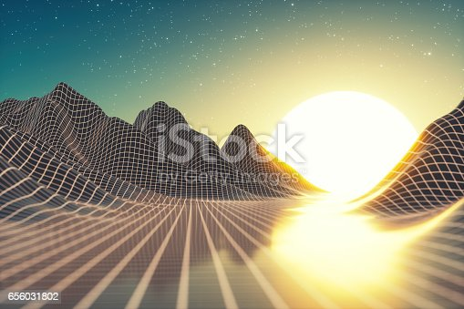 istock Abstract Futuristic Background 656031802