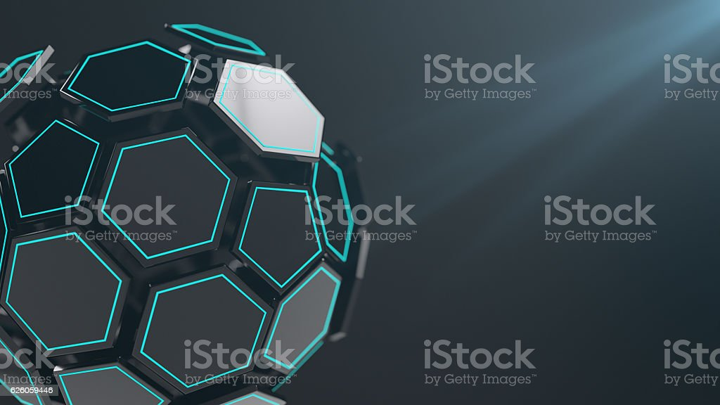 Abstract futuristic technology stock photo