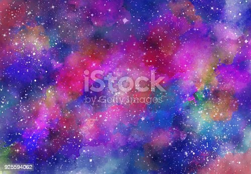 istock Abstract galaxy background 925594062