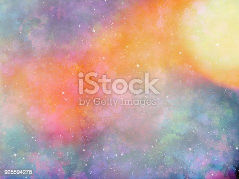 istock Abstract galaxy background 925594278