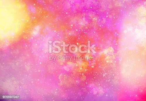 istock Abstract galaxy background 925597042