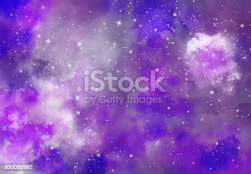 istock Abstract galaxy background 930086992