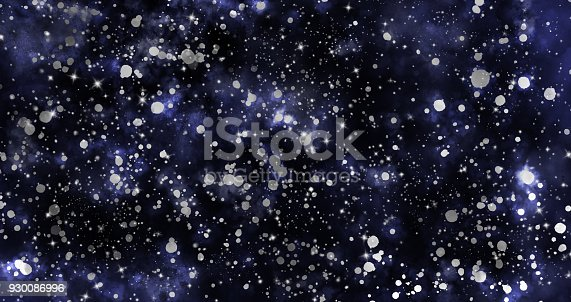 istock Abstract galaxy background 930086996