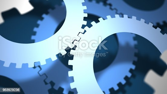 istock Abstract Gears 953929236