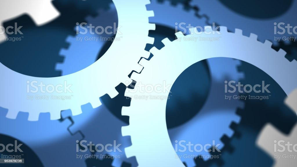 Abstract Gears - foto stock