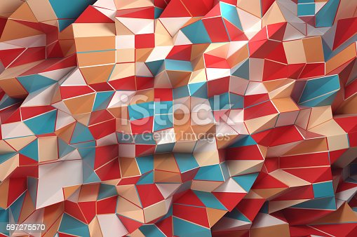 508795172istockphoto Abstract Geo Shapes 597275570