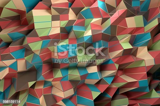 508795172istockphoto Abstract Geo Shapes 598159114