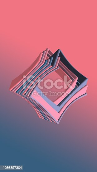 926309124 istock photo Abstract Geometric background 1086357304
