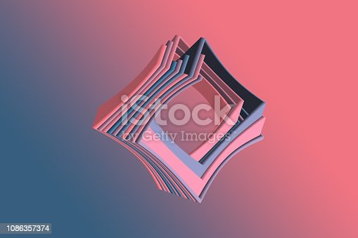 926309124 istock photo Abstract Geometric background 1086357374