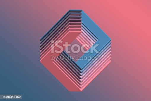 926309124 istock photo Abstract Geometric background 1086357402