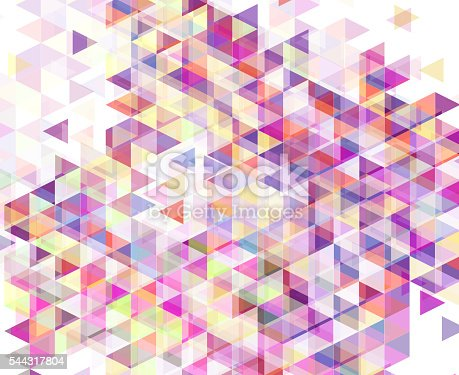 istock Abstract geometric background 544317804