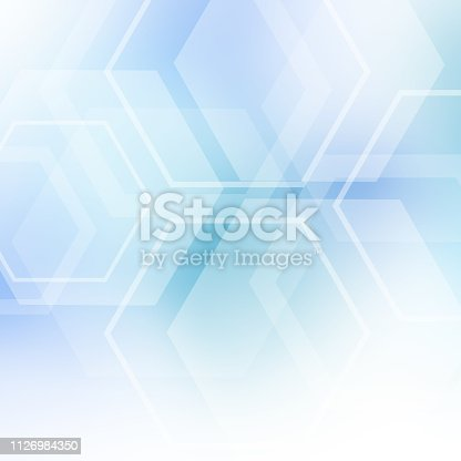 istock Abstract geometric background. Template brochure design 1126984350