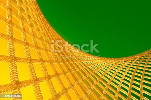 istock Abstract Geometric Background With Crossed Lines 1135301096