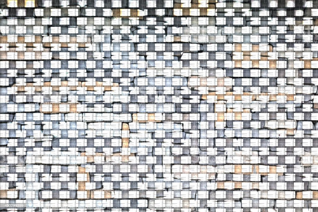 Abstract geometric background with dark and light in the royalty-free stock photo