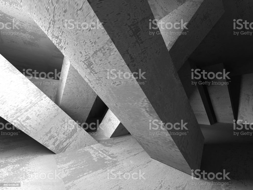 Abstract geometric concrete architecture background zbiór zdjęć royalty-free