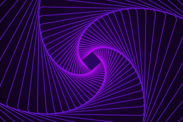 Abstract geometric line art stock photo