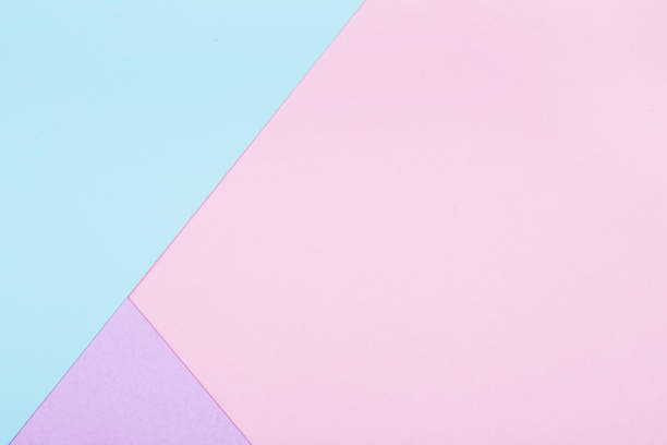 Abstract geometric paper background stock photo