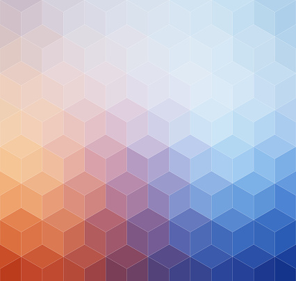 508795172 istock photo Abstract geometric pastel colored retro background 519921156