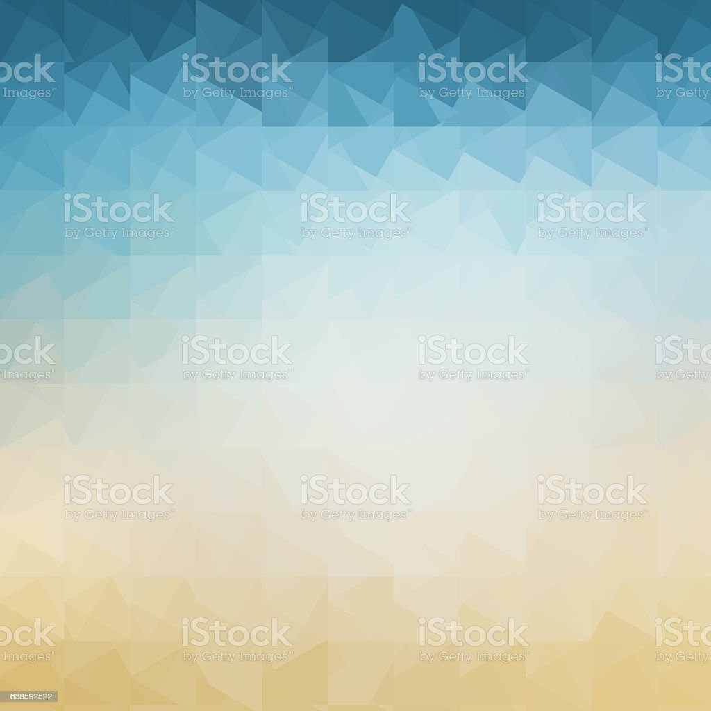 Abstract geometric pastel colored retro background stock photo