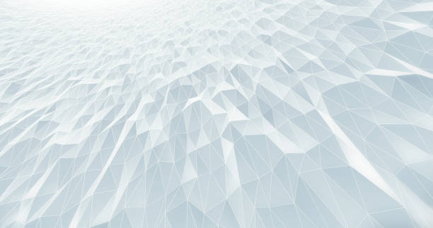 abstract geometric pattern background - white - stile minimalista foto e immagini stock