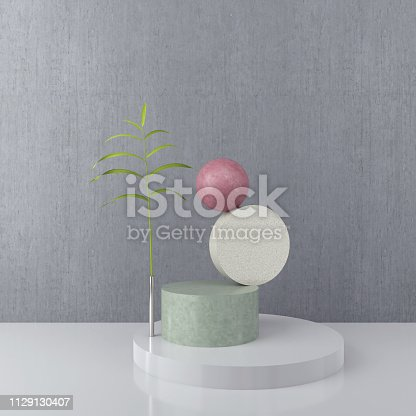1129130396 istock photo abstract geometric shape background. 1129130407