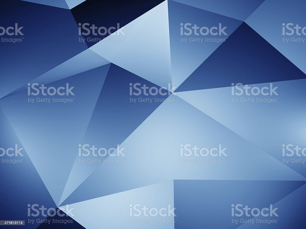 Abstract geometric shape royalty-free stock photo