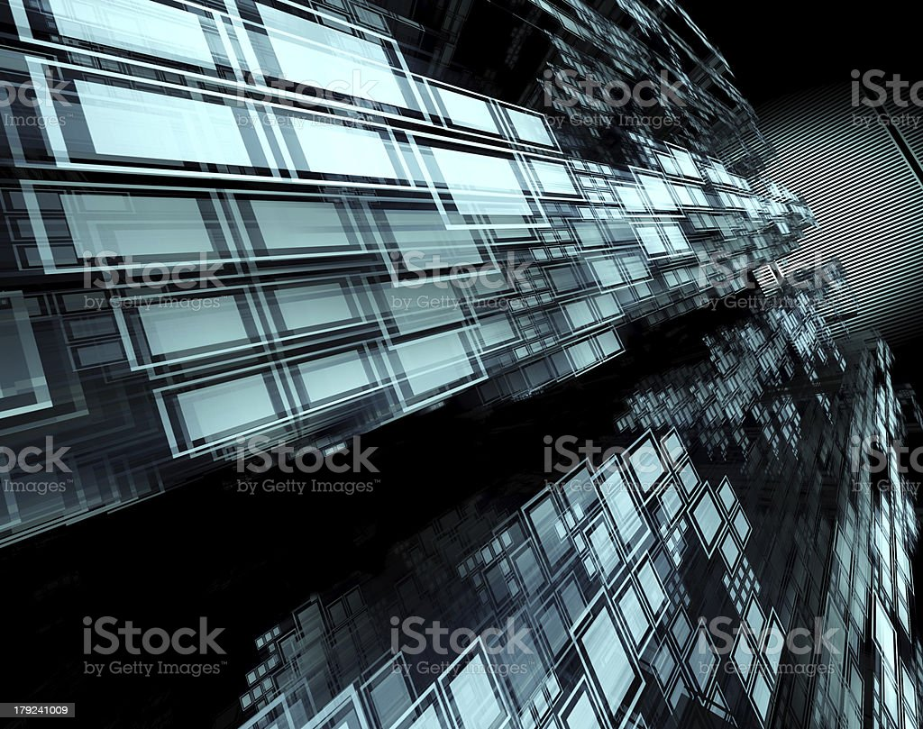 abstract geometric shapes background royalty-free stock photo