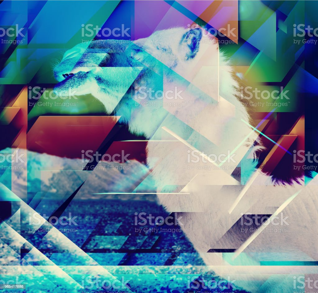 Abstrato geométrico formas de fundo. - Foto de stock de Abstrato royalty-free