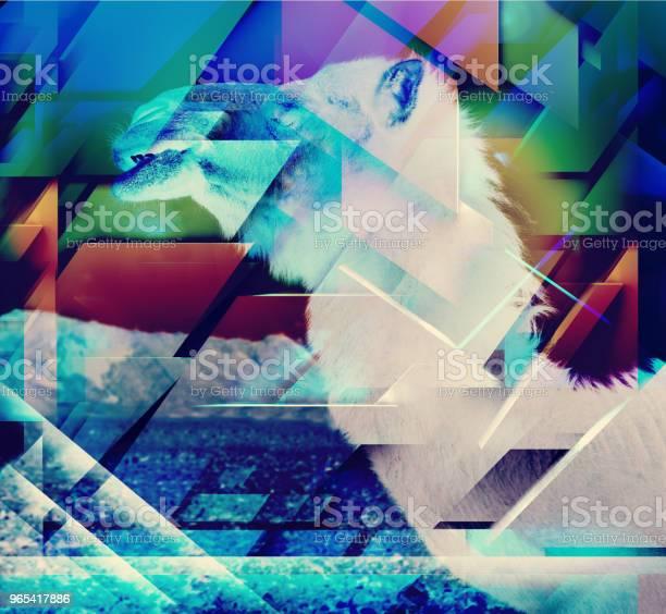 Foto de Abstrato Geométrico Formas De Fundo e mais fotos de stock de Abstrato