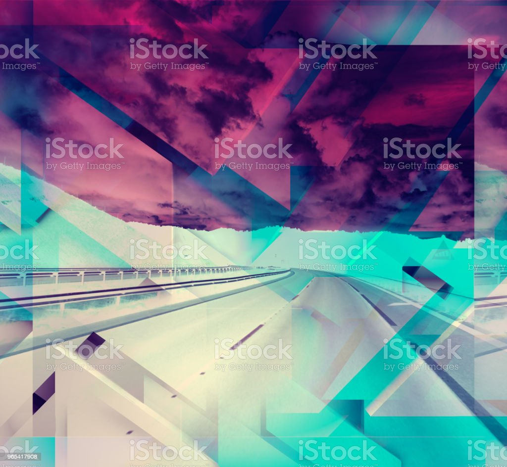 Abstract geometric shapes background. royalty-free stock photo