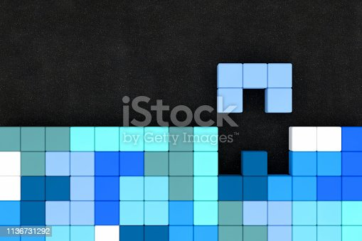 Block Stacking Video Game, Toy Block, Puzzle, Wood - Material, Shape, Logic Game.