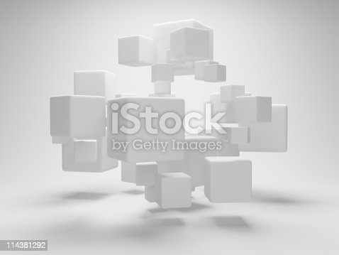 istock Abstract geometric shapes 114381292