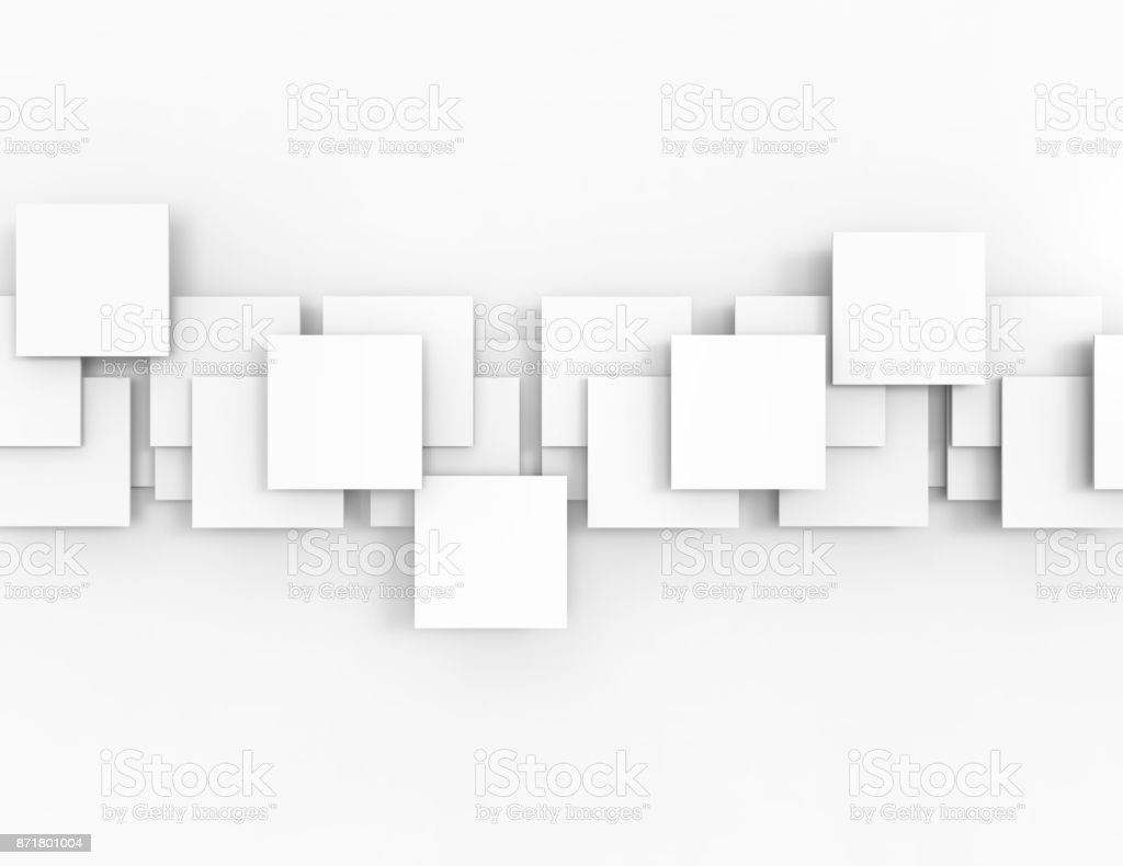 Abstract geometric shapes stock photo