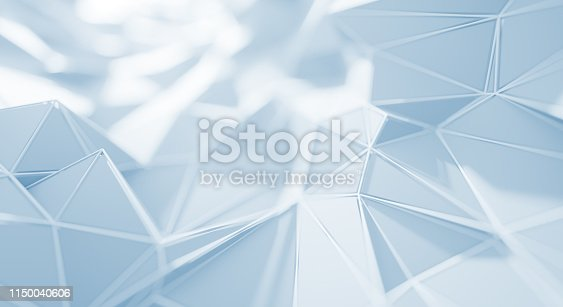 687269072istockphoto Abstract Geometric Surface (White) 1150040606
