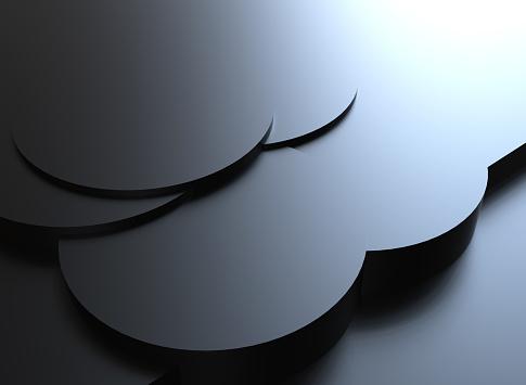 Abstract geometric texture - Trendy dark background