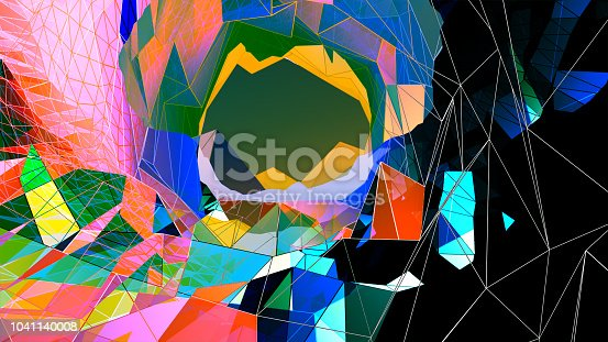 istock Abstract Geometrical Background 1041140008