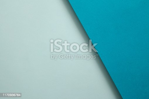 857920492istockphoto Abstract geometricpaper background in soft pastel blue colors 1170936764