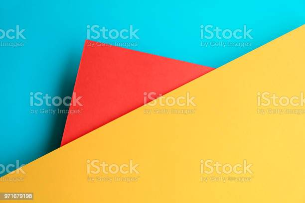 Abstract geometricpaper background in soft pastel blue red and yellow picture id971679198?b=1&k=6&m=971679198&s=612x612&h=x319wacmayer0kvri ckr8kuytnkybifoznlhagyq6q=