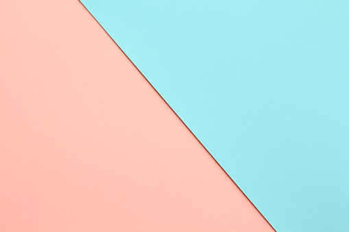 Abstract Geometricpaper Background In Soft Pastel Pink And Blue Colors — стоковые фотографии и другие картинки Абстрактный