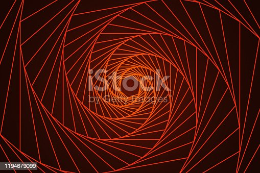 Full frame abstract geometry line art.